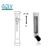Variable Area Flowmeter iSOLV MGT30  Miniature Glass Variable Area Flowmeter